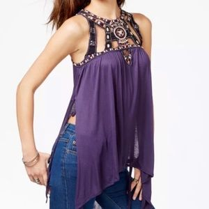 NWT free people vision quest top size medium